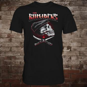 "Rumjacks ""Skull & Knives"" T-Shirt"