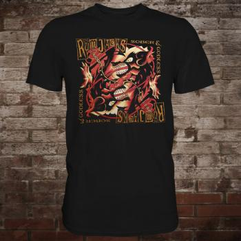 "Rumjacks ""Sober & Godless"" T-Shirt"