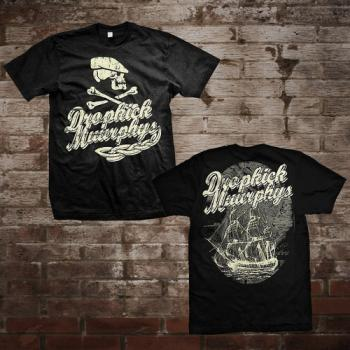 "Dropkick Murphys ""Scally Skull Ship"" T-Shirt"