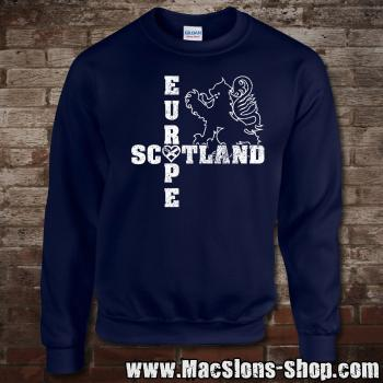 "Scotland ""Europe"" Sweatshirt (navy)"