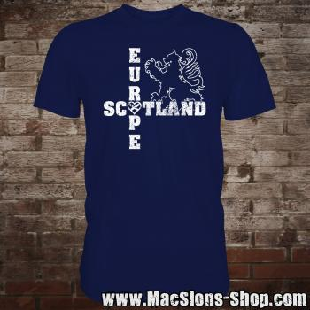 "Scotland ""Europe"" T-Shirt (navy)"