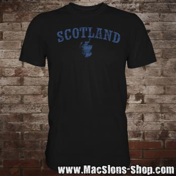 "Scotland ""Landscape"" T-Shirt (black-navy)"