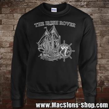 "MacSlon's ""Irish Rover"" Sweatshirt (black/white)"