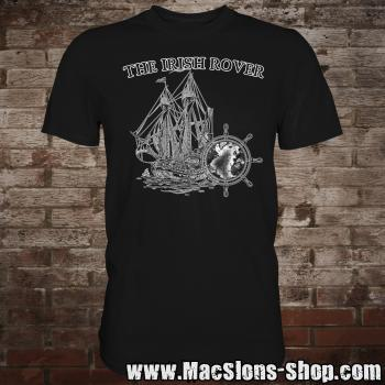 "MacSlon's ""Irish Rover"" T-Shirt (black/white)"