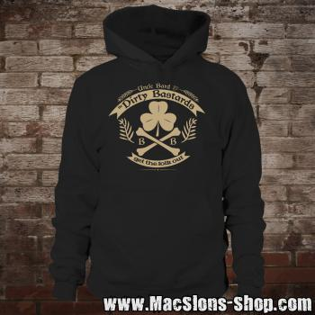 "Uncle Bard & the Dirty Bastards ""Get The Folk Out"" Hoodie (black)"