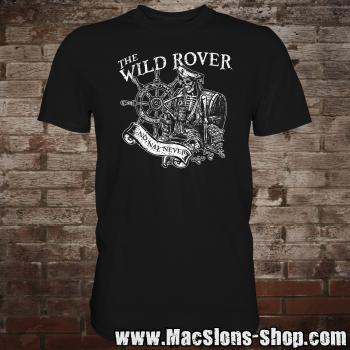 "MacSlon's ""The Wild Rover"" T-Shirt (black)"
