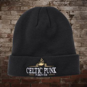 "MacSlon's ""Celtic Punk - Forever"" Wollmütze / Dockers-Hat"