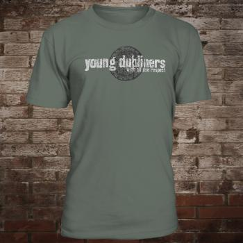 "Young Dubliners ""With All Due Respect"" T-Shirt (oliv)"