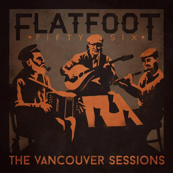 "Flatfoot 56 ""The Vancouver Sessions"" LP (green)"