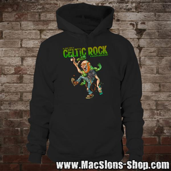"MacSlon's ""All I Want Is Celtic Rock - Bastard"" Hoodie (black)"