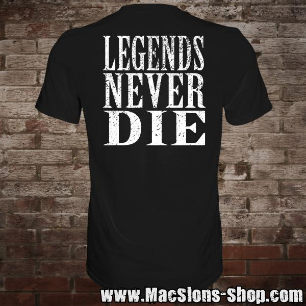 "Lady Godiva ""Rides Again / Legends Never Die"" T-Shirt"