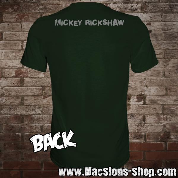 "Mickey Rickshaw ""Home In Song"" T-Shirt (green)"