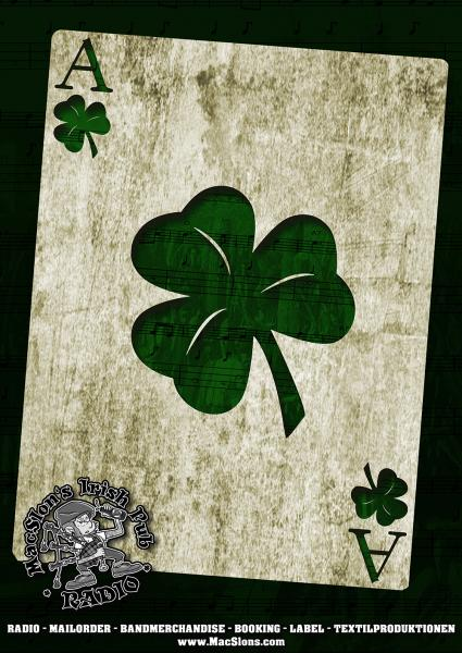 """Ace of Shamrock"" Poster (A1)"