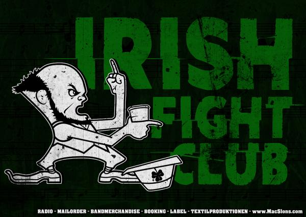 """Irish Fight Club"" Poster (A1)"