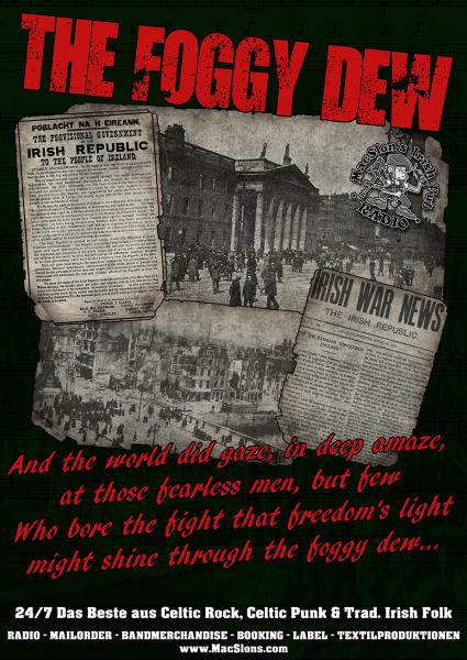 """The Foggy Dew"" Poster (A1)"