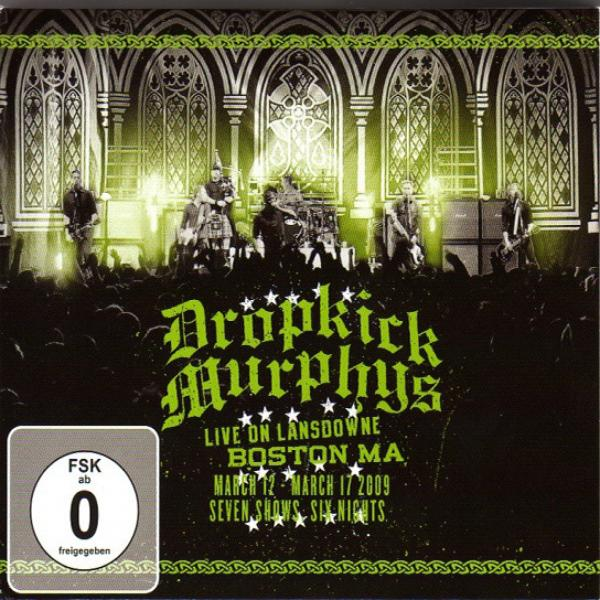 "Dropkick Murphys ""Live On Landsdowne, Boston, MA, 2009"" CD+DVD"