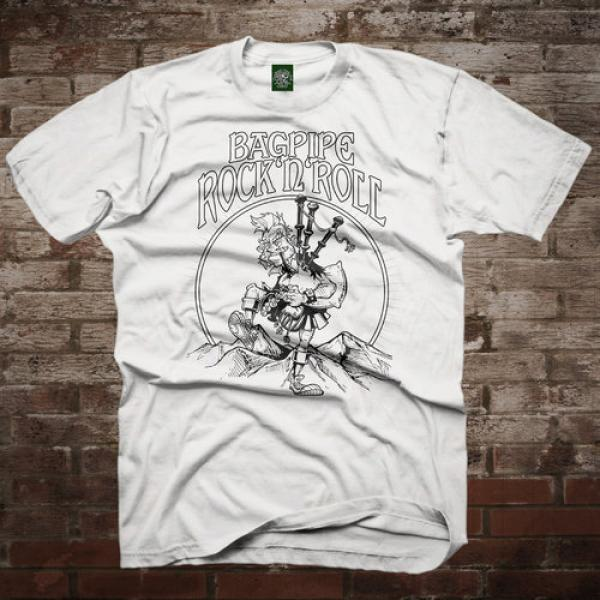 "MacSlon's ""Bagpipe Rock'n'Roll"" T-Shirt"