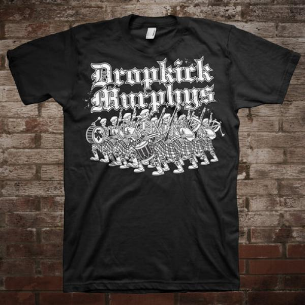 "Dropkick Murphys ""Marching"" T-Shirt"