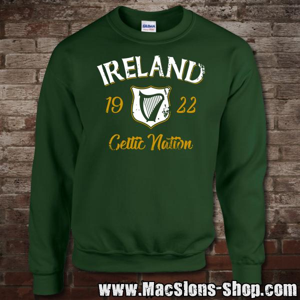 "Ireland ""Celtic Nation I"" Sweatshirt (green)"