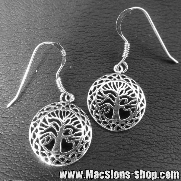 """Celtic Tree"" Ohrringe (925 Silber)"