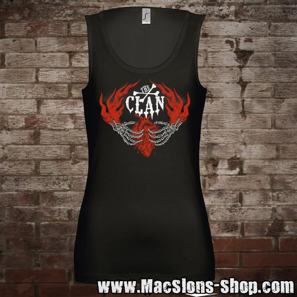 "Clan ""Here To Stay"" Girl-Tank-Top (black)"