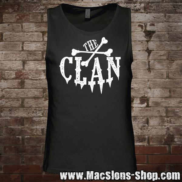 "Clan ""Logo"" Tank-Top (black/white)"