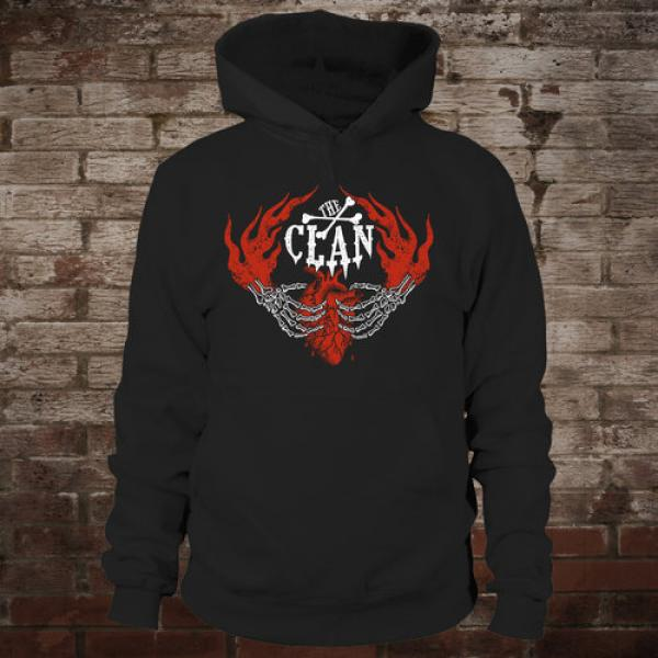 "Clan ""Here To Stay"" Hoodie (black)"
