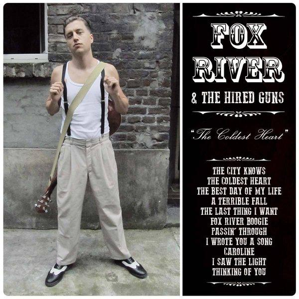 "Fox River & The Hired Guns ""The Coldest Heart"" CD"