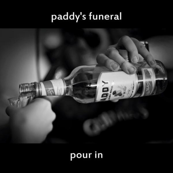 "Paddy's Funeral ""Pour In"" CD"
