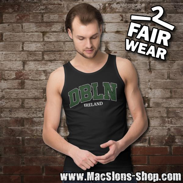 "DBLN ""Ireland"" Tank-Top (black)"