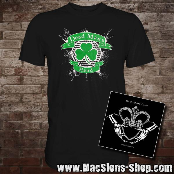 "Dead Man's Hand ""Shamrock"" T-Shirt + CD"