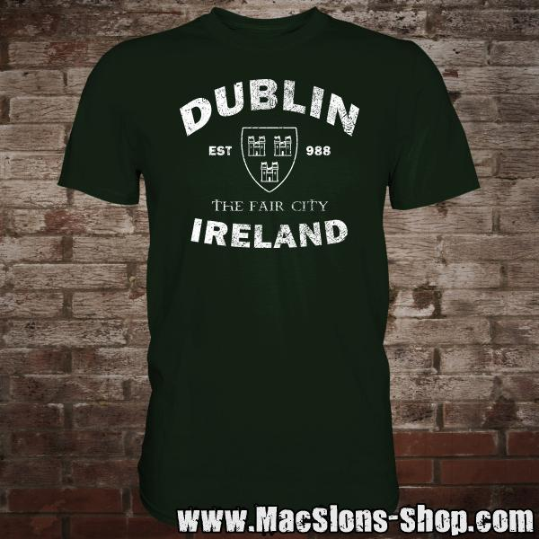 "Dublin ""The Fair City"" T-Shirt (green)"