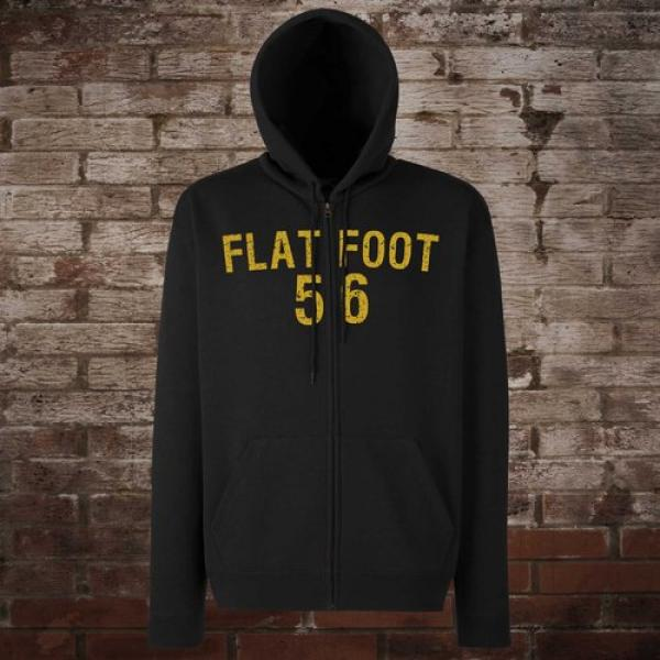 "Flatfoot 56 ""Hockey"" Zip-Jacke (black/yellow)"