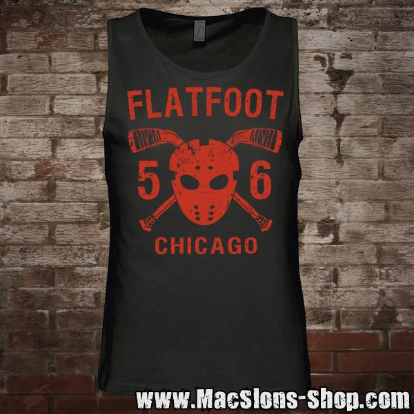 "Flatfoot 56 ""Hockey"" Tank-Top (black/red)"