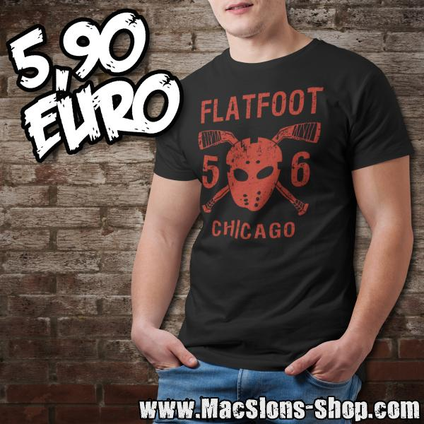 "Flatfoot 56 ""Hockey"" T-Shirt (black/red) *Ausstellungsstück*"