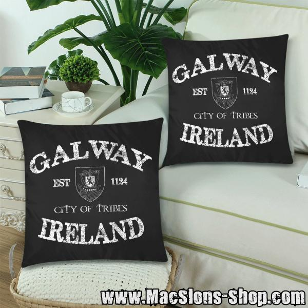 "Galway ""City Of Tribes"" Kissenbezug (Doppelpack)"