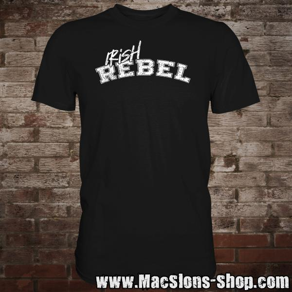 """Irish Rebel"" T-Shirt (black)"