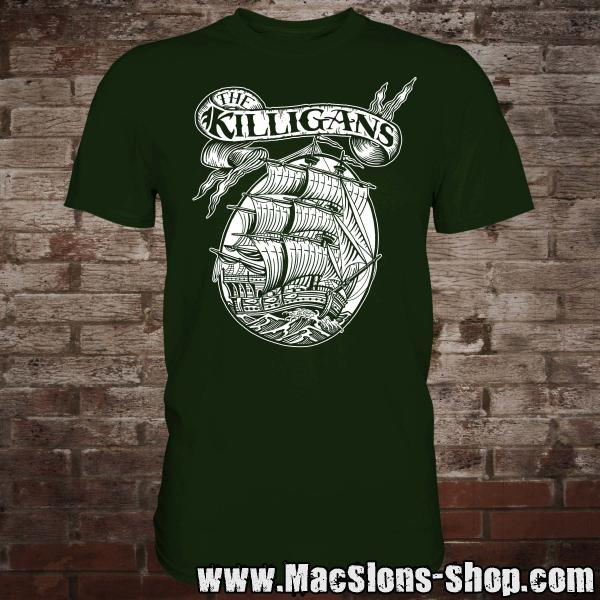 "Killigans ""Ship"" T-Shirt (green)"