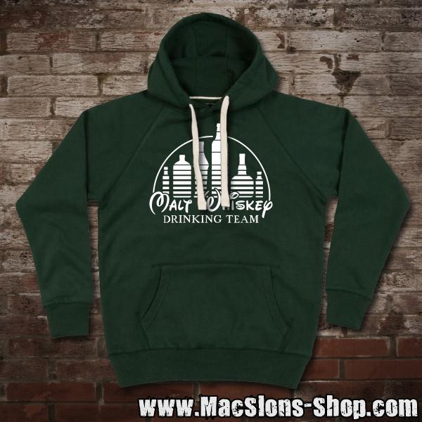 "Malt Whiskey ""Drinking Team"" Premium Hoodie"