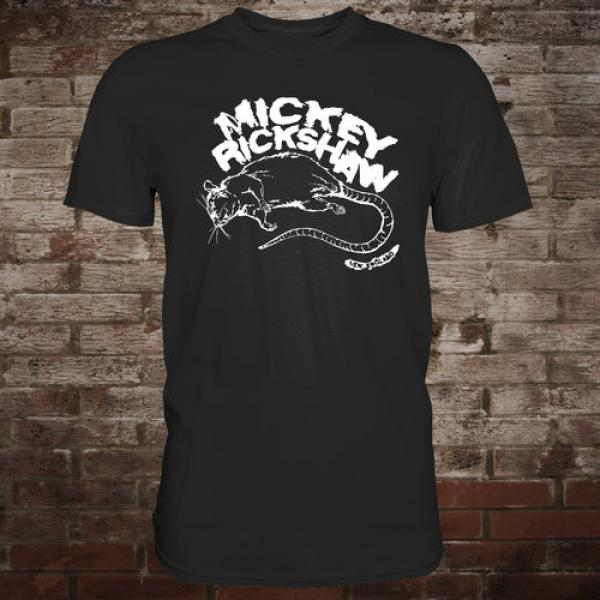 "Mickey Rickshaw ""Rat"" T-Shirt (black)"