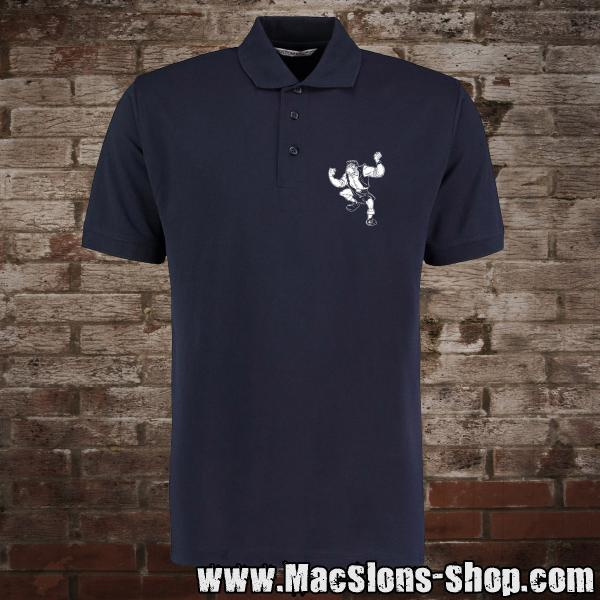 """Pub Fighter"" Polo-Shirt (navy)"