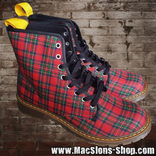 "MacSlon's ""Red Tartan"" Men-Boots"