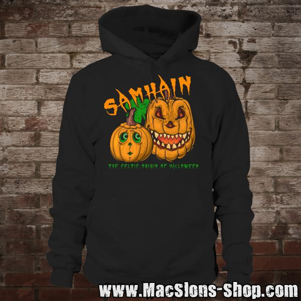 "Samhain ""The Celtic Origin Of Halloween"" Hoodie (black)"