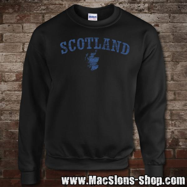 "Scotland ""Landscape"" Sweatshirt (black/navy)"