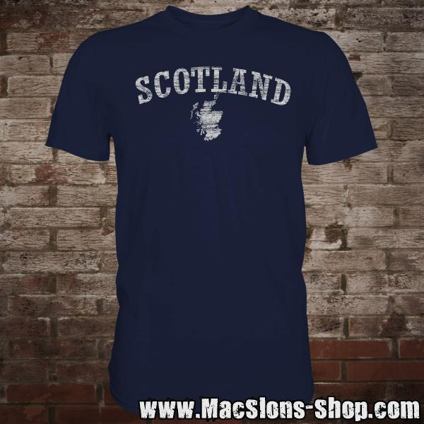 "Scotland ""Landscape"" T-Shirt (navy)"