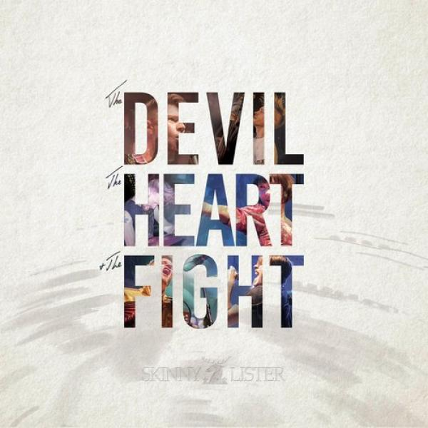 "Skinny Lister ""The Devil, The Heart & The Fight"" CD"