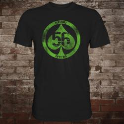 "Flatfoot 56 ""Spade"" T-Shirt (black/green)"
