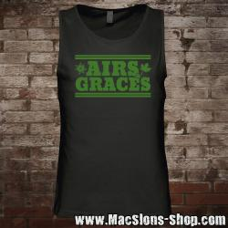"Airs and Graces ""Logo"" Tank-Top (black)"