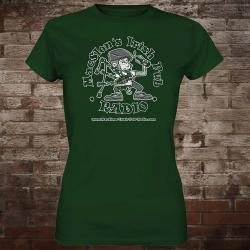 "MacSlon's ""Classic Logo"" Girly-Shirt (green)"