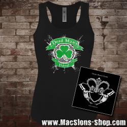"Dead Man's Hand ""Shamrock"" Girly-Tank-Top + CD"
